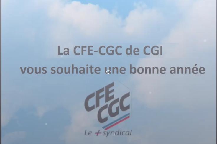 La CFE CGC de CGI vous souhaite une bonne année